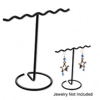 4pcs- Black Wire Display or Jewelry/Earring Rack- 4x3.75 in
