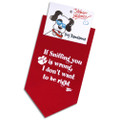 If sniffing you is wrong, I don't wanna be right!— 100% cotton dog bandanna