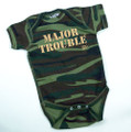 Major Trouble - Baby One Piece