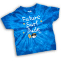 Future Surf Dude - Tie-Dye Toddler Tee
