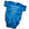 Future Surf Dude - Tie-Dye Baby One Piece