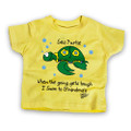 When the going gets tough, I swim to Grandma's - Baby & Toddler Tee