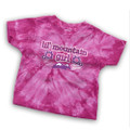 Lil mountain girl - Tie-Dye Toddler Tee