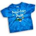 Mountain Dude - Tie-Dye Toddler Tee