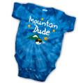 Mountain dude - Tie-Dye Baby One-piece