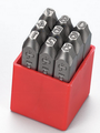 Metal Dot Stamps Number Set Only HRC-58-62 heads tail tempered best quality from 3mm-12mm