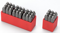 Metal Dot Stamps Combination Sets HRC-58-62 heads tail tempered best quality from 3mm-12mm