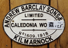 Assorted  railway signs