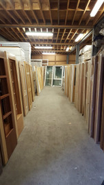 assorted new doors