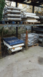 assorted cast iron radiators