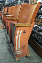 Cast iron cinema seating