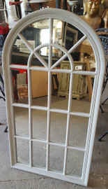 large curved top mirror