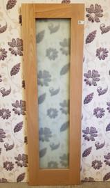 oak shaker frosted 24'' x 78''