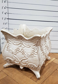 cast iron planter (large)