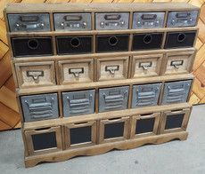 25 drawer unit
