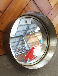 Deep frame round mirror (medium)