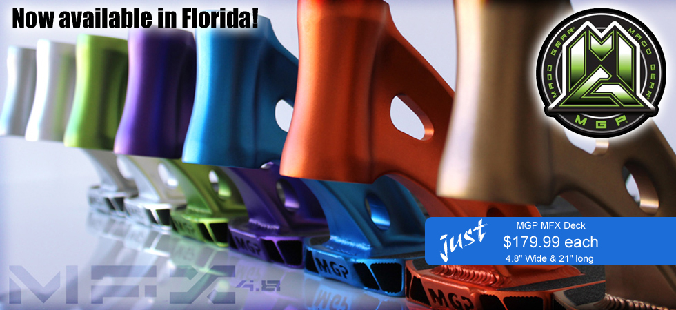 MGP MFX Deck is available for purchase inside Pointe Orlando on International Drive in Orlando, Florida.