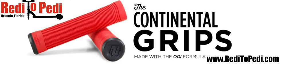 Purchase grips for your scooter like these from Tilt from Redi To Pedi Proscooters in Orlando, Florida.