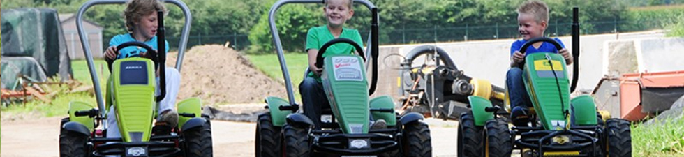 BERG Traxx Pedal Go Karts