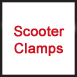 Scooter clamps are available for sale in Orlando, Florida at Redi To Pedi.