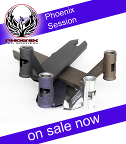 Phoenix Session Scooter Deck is on sale in Orlando, Florida.