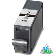 Re-manufactured Canon PGI-7 Black Inkjet Cartridge