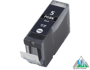 Re-manufactured Canon PGI-5 Black Inkjet Cartridge
