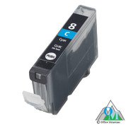 Re-manufactured Canon CLI-8 Cyan Inkjet Cartridge