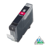Re-manufactured Canon CLI-8 Magenta Inkjet Cartridge