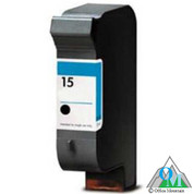 Re-manufactured Hewlett-Packard C6615DN (HP 15) Inkjet Cartridge