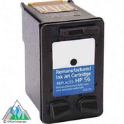 Re-manufactured Hewlett-Packard C6656AN (HP 56) Inkjet Cartridge