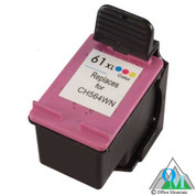 Re-manufactured Hewlett-Packard CH564WN (HP 61XL) Color Inkjet Cartridge
