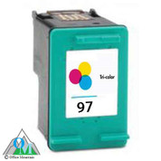 Re-manufactured Hewlett-Packard C9363WN (HP 97) Inkjet Cartridge