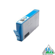 Re-manufactured Hewlett-Packard CB323WN (HP 564XL) Cyan Inkjet Cartridge