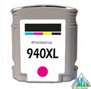 Re-manufactured Hewlett-Packard C4908AN (HP 940XL) Magenta Inkjet Cartridge