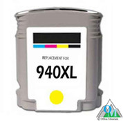Re-manufactured Hewlett-Packard C4909AN (HP 940XL) Yellow Inkjet Cartridge