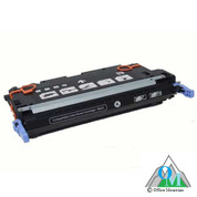 Re-manufactured Hewlett-Packard C9730A (HP 645A) Black Toner Cartridge