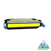 Re-manufactured Hewlett-Packard CB402A (HP 642A) Yellow Toner Cartridge