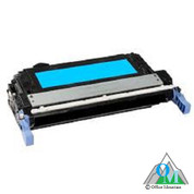 Re-manufactured Hewlett-Packard CB401A (HP 642A) Cyan Toner Cartridge