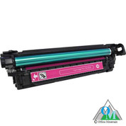 Re-manufactured Hewlett-Packard CE253A (HP 504A) Magenta Toner Cartridge