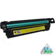Re-manufactured Hewlett-Packard CE252A (HP 504A) Yellow Toner Cartridge