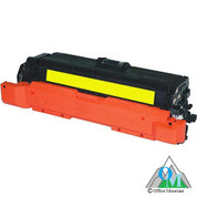Re-manufactured Hewlett-Packard CE262A (HP 648A) Yellow Toner Cartridge
