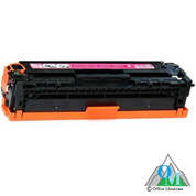 Re-manufactured Hewlett-Packard CE323A (HP 128A) Magenta Toner Cartridge