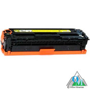 Re-manufactured Hewlett-Packard CE322A (HP 128A) Yellow Toner Cartridge