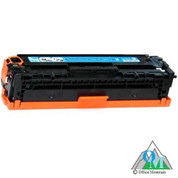 Re-manufactured Hewlett-Packard CE321A (HP 128A) Cyan Toner Cartridge