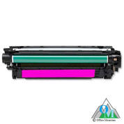 Re-manufactured Hewlett-Packard CE403A (HP 507A) Magenta Toner Cartridge