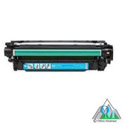 Re-manufactured Hewlett-Packard CE401A (HP 507A) Cyan Toner Cartridge