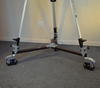 3D imaging tripod on wheels