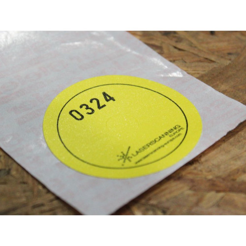 3D Imaging reference sticker