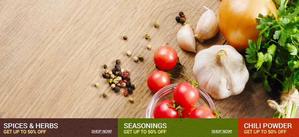 Seasonings and Cooking stuff - micronutrientsuk.com